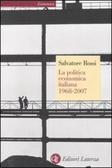 Winniearcher.com La politica economica italiana 1968-2007 Image