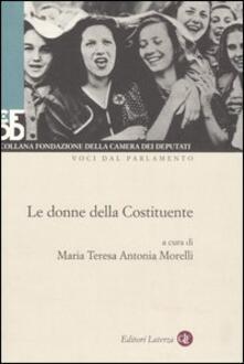 Voluntariadobaleares2014.es Le donne della Costituente. Con DVD Image