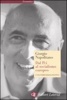 Camfeed.it Dal Pci al socialismo europeo. Un'autobiografia politica Image
