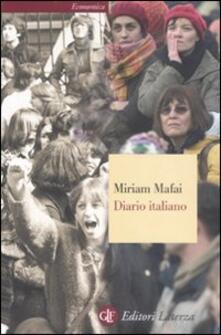 Diario italiano 1976-2006 - Miriam Mafai - copertina