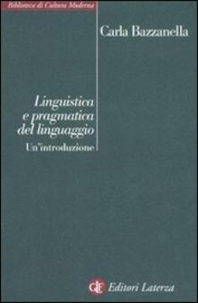 Grandtoureventi.it Linguistica e pragmatica del linguaggio. Un'introduzione Image