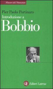 Libro Introduzione a Bobbio Pier Paolo Portinaro