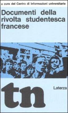 Documenti della rivolta studentesca francese (rist. anast. Bari, 1969).pdf