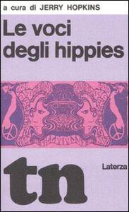 Foto Cover di Le voci degli hippies (rist. anast. 1969), Libro di  edito da Laterza