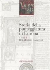 Copertina  Storia della punteggiatura in Europa