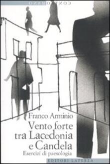 Vento forte tra Lacedonia e Candela. Esercizi di paesologia - Franco Arminio - copertina