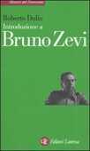 Libro Introduzione a Bruno Zevi Roberto Dulio
