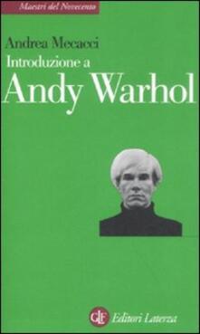 Antondemarirreguera.es Introduzione a Andy Warhol Image