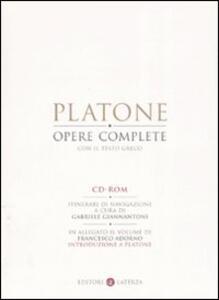 Opere complete. CD-ROM. Con libro