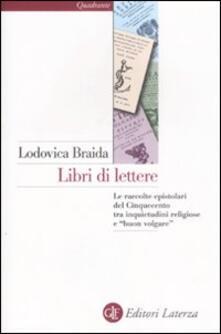 Recuperandoiltempo.it Libri di lettere. Le raccolte epistolari del Cinquecento tra inquietudini religiose e «buon volgare» Image