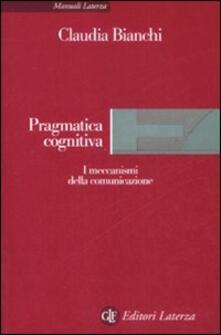 Winniearcher.com Pragmatica cognitiva. I meccanismi della comunicazione Image