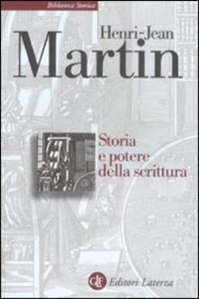 Storia e potere della scrittura.pdf