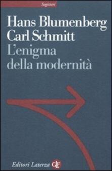 L enigma della modernità. Epistolario 1971-1978 e altri scritti.pdf