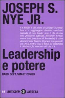 Listadelpopolo.it Leadership e potere. Haed, soft, smart power Image