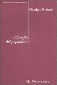 Filosofie del populismo
