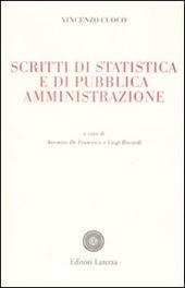 Scritti di statistica e di pubblica amministrazione