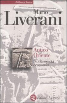 Antico Oriente. Storia, società, economia.pdf