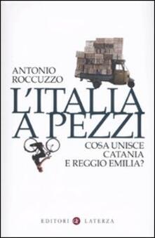 Premioquesti.it L' Italia a pezzi. Cosa unisce Catania e Reggio Emilia? Image