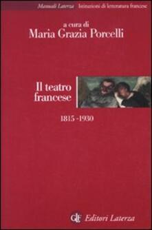 Ristorantezintonio.it Il teatro francese 1815-1930 Image