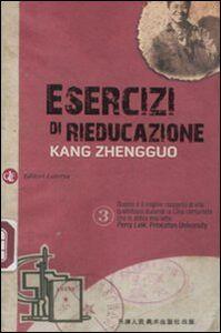 Libro Esercizi di rieducazione Zhengguo Kang