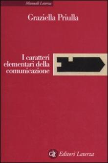 I caratteri elementari della comunicazione.pdf