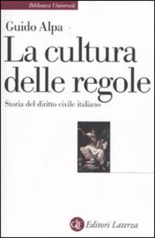 Librisulladiversita.it La cultura delle regole. Storia del diritto civile italiano Image