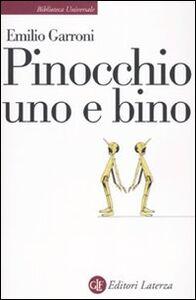 Libro Pinocchio uno e bino Emilio Garroni