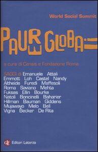 Libro Paure globali