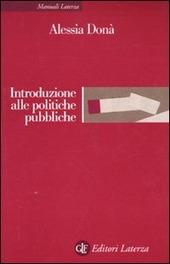 Introduzione alle politiche pubbliche