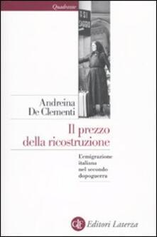 Antondemarirreguera.es Il prezzo della ricostruzione. L'emigrazione italiana nel secondo dopoguerra Image