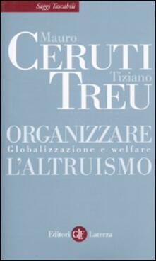 Aboutschuster.de Organizzare l'altruismo. Globalizzazione e welfare Image