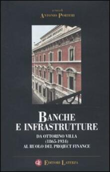 Scacciamoli.it Banche e infrastrutture. Da Ottorino Villa (1865-1934) al ruolo del project finance Image