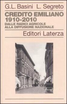 Rallydeicolliscaligeri.it Credito Emiliano 1910-2010. Dalle radici agricole alla diffusione nazionale Image