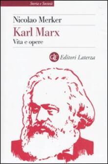 Amatigota.it Karl Marx. Vita e opere Image