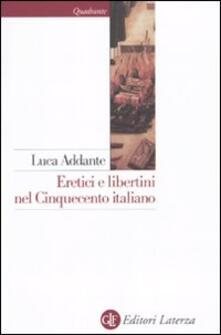 Lpgcsostenible.es Eretici e libertini nel Cinquecento italiano Image