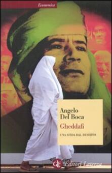 Camfeed.it Gheddafi. Una sfida dal deserto Image