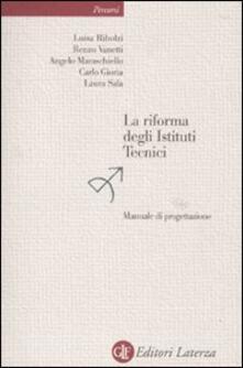 La riforma degli istituti tecnici. Manuale di progettazione.pdf