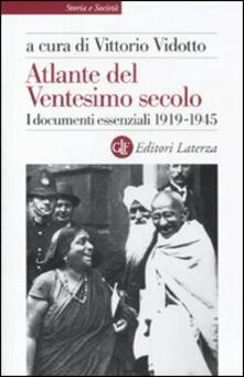 Radiospeed.it Atlante del ventesimo secolo. I documenti essenziali 1919-1945. Vol. 2 Image