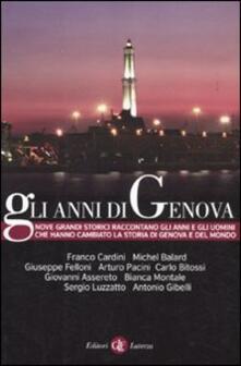 Premioquesti.it Gli anni di Genova Image