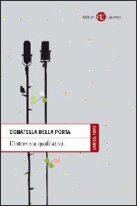 Libro L' intervista qualitativa Donatella Della Porta