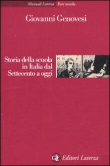 Recuperandoiltempo.it Storia della scuola in Italia dal Settecento a oggi Image