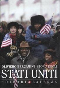 Foto Cover di Storia degli Stati Uniti, Libro di Oliviero Bergamini, edito da Laterza