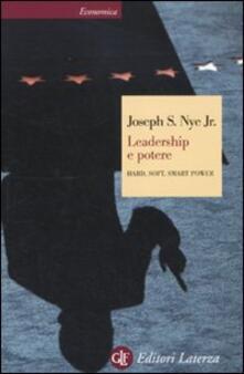 Leadership e potere. Hard, soft, smart power.pdf