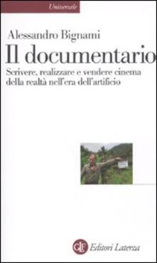 Criticalwinenotav.it Il documentario. Scrivere, realizzare e vendere cinema della realtà nell'era dell'artificio Image