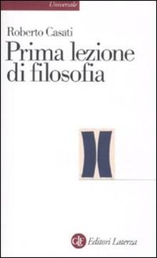 Listadelpopolo.it Prima lezione di filosofia Image