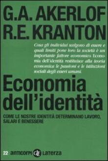 Vitalitart.it Economia dell'identità. Come le nostre identità determinano lavoro, salari e benessere Image
