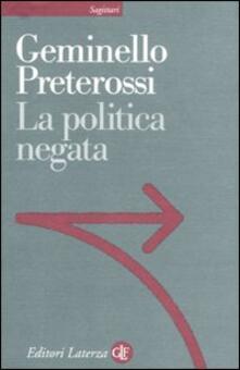 La politica negata.pdf