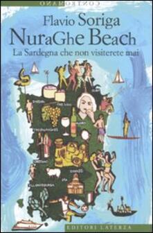 NuraGhe beach. La Sardegna che non visiterete mai - Flavio Soriga - copertina