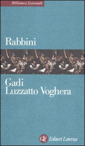 Libro Rabbini Gadi Luzzato Voghera