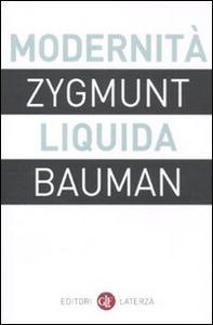 Libro Modernità liquida Zygmunt Bauman